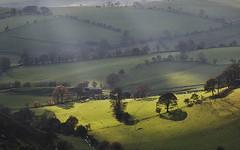 Spotlight (geoffspages) Tags: wales landscape sunbeams powys