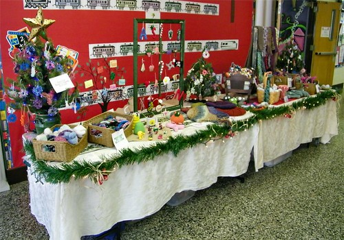 St. Greg's Craft Show 2010 Table 01