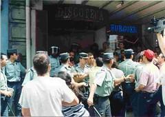 a brutalidade policial foi unha constante