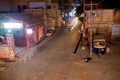 DSC_2566.jpg (dogseat) Tags: street longexposure dog india blur agra polarbear tuktuk ghosts rickshaw uttarpradesh