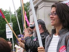 Nearing Victory (clockworknate) Tags: protest gaymarriage massachusettsstatehouse