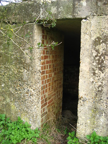 Pill box entrance