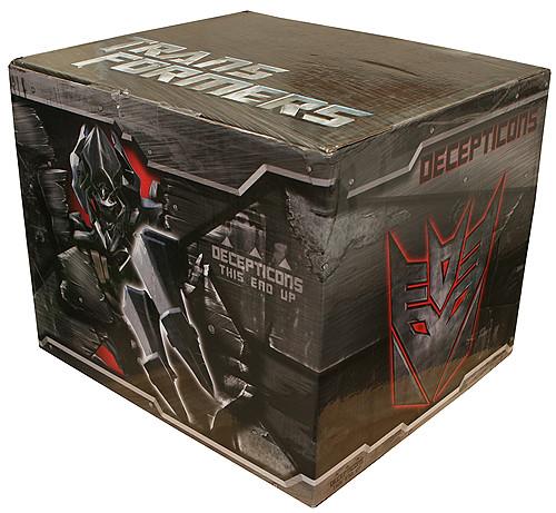 Transformers caja press kit