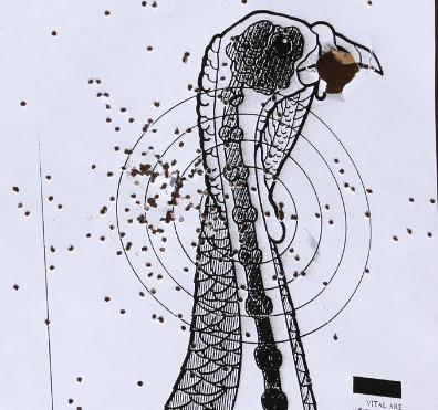 Pro Tips How To Pattern Your Shotgun For Turkey Season Orvis News Enchanting Shotgun Choke Patterns