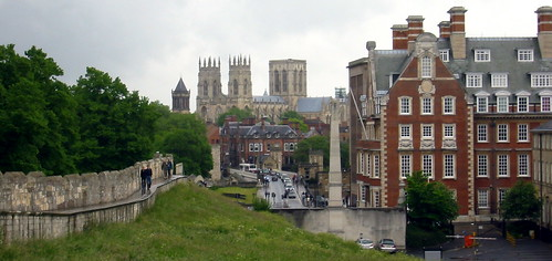 Yorkminster from the walls
