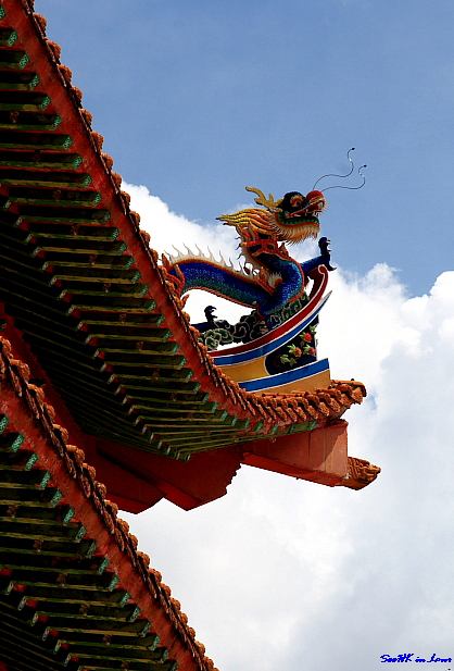 Dragon (2) @ Thean Hou Temple, KL ,Malaysia