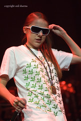 Lady Sovereign:GM Place, Vancouver 2007 (spacehindu) Tags: uk music ladysovereign lady concert live anil british hiphop hip hop rap grime sovereign sharma spacehindu anilsharma