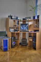 canon computer pc geek intel hdr crunching eos400d computerfarm