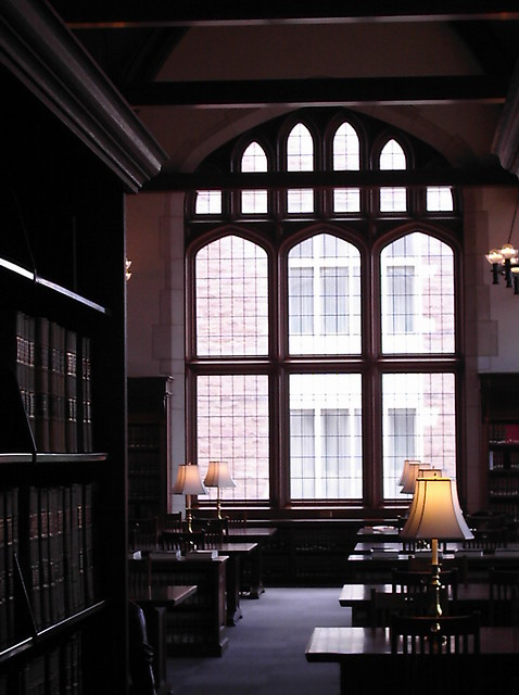 Anheuser-Busch Hall Library
