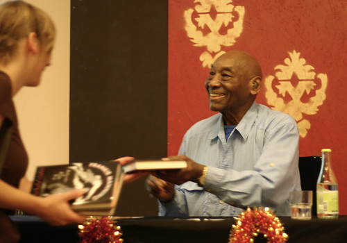 Frankie Manning Book signing in Herrang
