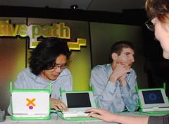 One Laptop per Child demo