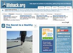 Lifehack.org Design