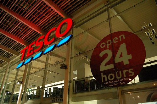 TESCO, 24hour Supermarket