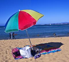 IMG_3232 (sumowrestler) Tags: ocean california beach colors umbrella canon colours pacific towel blanket sands montereyca platinumheartaward artlegacy sancarlosbeachpark