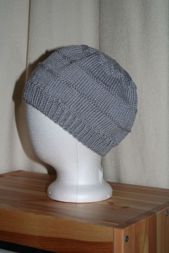 Chemo Hat in Knit Picks Shine Sport - Cloud