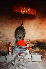 Buddha on Naga - Phnom Bakheng, Cambodia