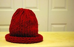 the hat I knitted