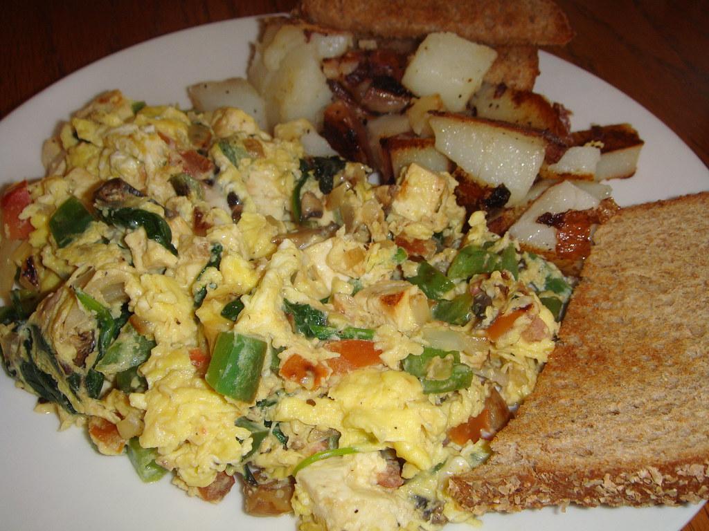 Tofu & Veggie Scrambled Eggs