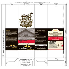 Bourbon Coffee Bag Labels 151