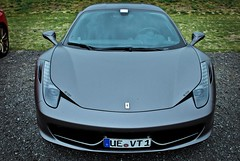 Ferrari 458 Italia (KlausKniehase / KneeRabbit) Tags: nikon italia ferrari scuderia matte 458