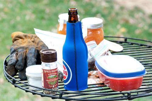 Necessary camping equipment