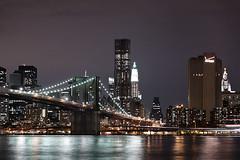 Brooklyn Bridge (KristjnFreyr) Tags: ocean new york city bridge sea usa newyork building brooklyn night america canon lights state lasvegas manhattan united l 5d f28 2470 fr bandarkin gorillapad amerka