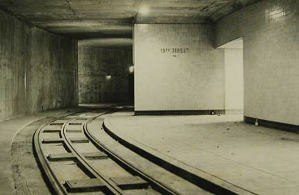 Dupont Circle trolley underpass