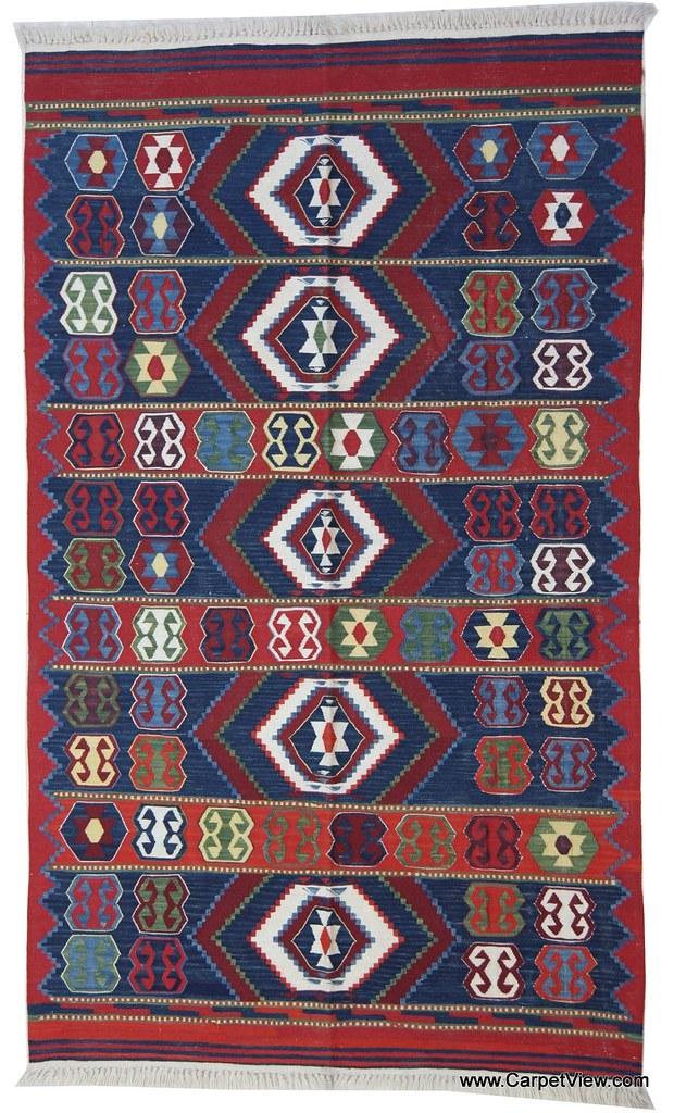 Kilim rug from Anatolia / Turkey