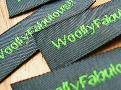 Now it's really official!! (woolly  fabulous) Tags: flower wool leaves pin recycled buttons brooch felt zipper woollyfabulous