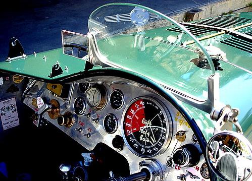 dashboard of an MG 1937
