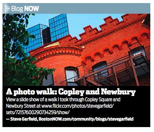 BostonNOW Copley