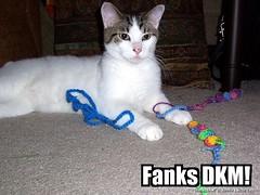 Fanks DKM!