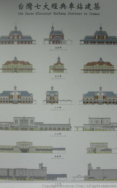 台灣七大經典車站建築