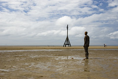 Another Place (Joe Dunckley) Tags: uk england statues beaches crosby merseyside irishsea sefton anotherplace