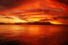The Real Deal Original Exposure! (Coand) Tags: ocean original autumn sunset shadow red sky orange hot colour art beach water yellow clouds dark landscape fire gold nikon holidays dusk vivid burning pacificocean burn strong samoa ripples supershot 18200mmf3556gvr apolimaisland manonoisland nopshop d80 1on1sunrisesunsets savaiiisland top20red