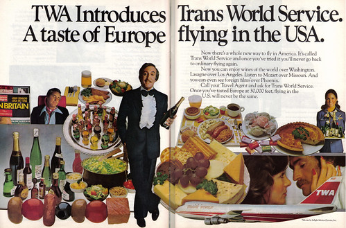 Vintage Ad #282: Peter Sellers Sings TWA