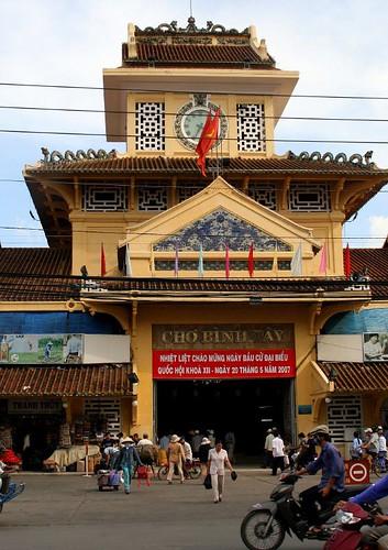 The Cho Lon Market