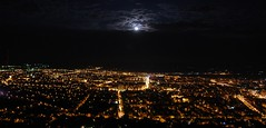 Nagybnya by night (> akela <) Tags: city moon night lights baiamare erdly nagybnya tolvajdnes