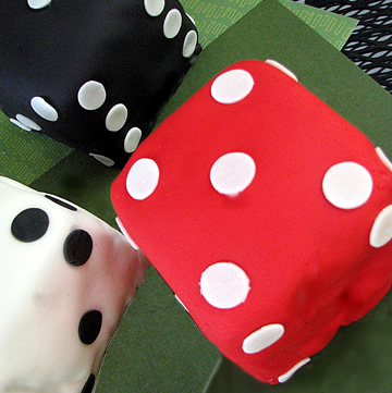 These Dice Are Loaded: With Mini-Cake!