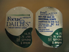 focus contacts contact lenses dailies astigmatism toric