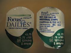 focus contacts contact lenses dailies astigmatism toric