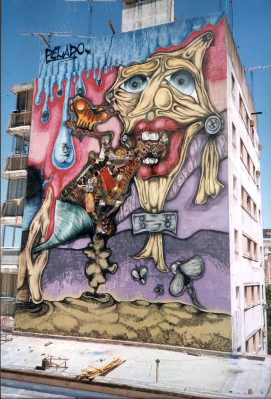 Un Muralista Argentino...