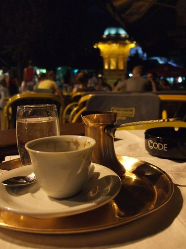 turkish style coffee in sarajevo