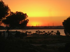 puesta de sol - HDR