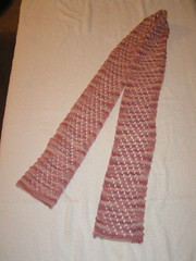Diagonal Lace Scarf 6