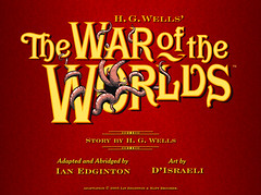 Portada del eComic -War of the Worlds-