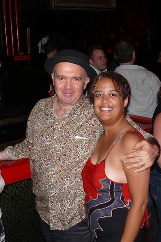 Steve Kirk and Julie