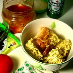 Noodle for typhoon day (D i u N g h i e m) Tags: taiwan noodle  typhoon 2007 cwd  cwd19 cwd191 cwdweek19