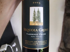 Sequoia Grove's new Cabernet Franc