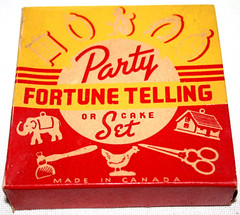 Fortune Telling Cake Set